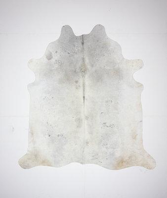 KOELAP Koeienhuid Vloerkleed - Grijs Egaal - 205 x 215 cm - 1001816