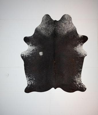 KOELAP Koeienhuid Vloerkleed - Bruinwit Gevlekt - 175 x 200 cm - 1002171