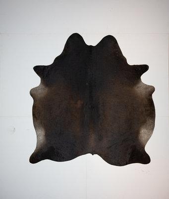 KOELAP Koeienhuid Vloerkleed - Bruin Egaal - 185 x 200 cm - 1002172