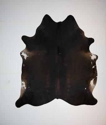 KOELAP Koeienhuid Vloerkleed - Bruin Egaal - 195 x 220 cm - 1002176