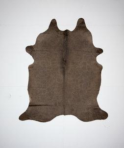 KOELAP Koeienhuid Vloerkleed - Bruin Egaal - 180 x 205 cm - 1001835