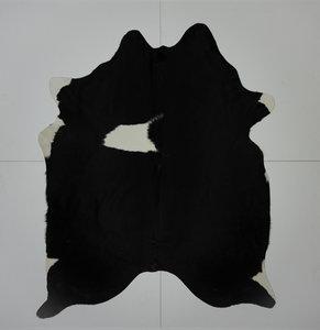 KOELAP Koeienhuid Vloerkleed - Zwartwit Egaal - 190 x 230 cm - 1001190