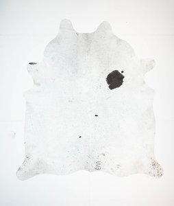KOELAP Koeienhuid Vloerkleed - Bruinwit Gevlekt Salt & Pepper - 210 x 230 cm - 1003518