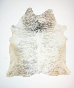 KOELAP Koeienhuid Vloerkleed - Grijs Egaal - 220 x 235 cm - 1003525