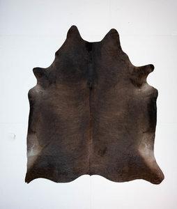 KOELAP Koeienhuid Vloerkleed - Bruin Egaal - 195 x 225 cm - 1003732