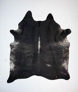 KOELAP Koeienhuid Vloerkleed - Zwart Brindle - 205 x 235 cm - 1003735