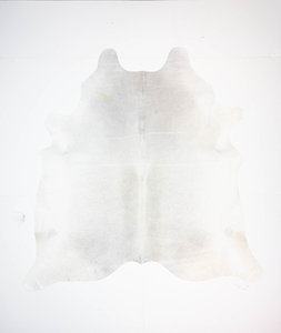 KOELAP Koeienhuid Vloerkleed - Grijs Egaal - 210 x 215 cm - 1003852