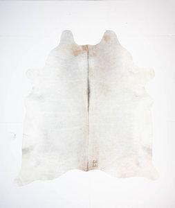 KOELAP Koeienhuid Vloerkleed - Grijs Egaal - 205 x 225 cm - 1003861
