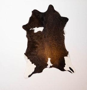 KOELAP Kalfshuid - Bruinwit Gevlekt Kalfshuid - 75 x 100 cm - 1003862