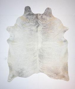 KOELAP Koeienhuid Vloerkleed - Grijs Egaal - 210 x 255 cm - 1004026