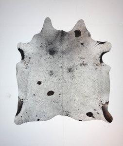 KOELAP Koeienhuid Vloerkleed - Zwartwit Gevlekt Salt & Pepper - 200 x 220 cm - 1004036
