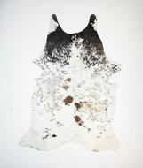 KOELAP Koeienhuid Vloerkleed - Bruinwit Gevlekt Salt & Pepper - 175 x 240 cm - 1003516