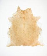 KOELAP Koeienhuid Vloerkleed - Bruin Egaal Langharig - 200 x 215 cm - 1003546
