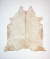 KOELAP Koeienhuid Vloerkleed - Beige Egaal - 210 x 235 cm - 1003723