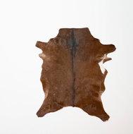 KOELAP Geitenhuid Vloerkleed - Bruin Gevlekt - 70 x 85 cm - 1003307