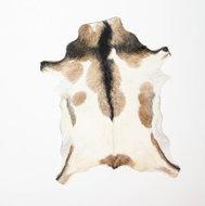 KOELAP Geitenhuid Vloerkleed - Bruin Gevlekt - 75 x 100 cm - 1003318