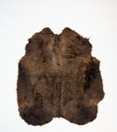 KOELAP Stierenhuid Vloerkleed - Bruin Egaal Stierenhuid - 155 x 175 cm - 1003760